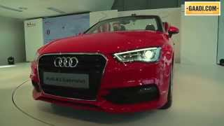 Audi A3 Cabriolet Launch In India