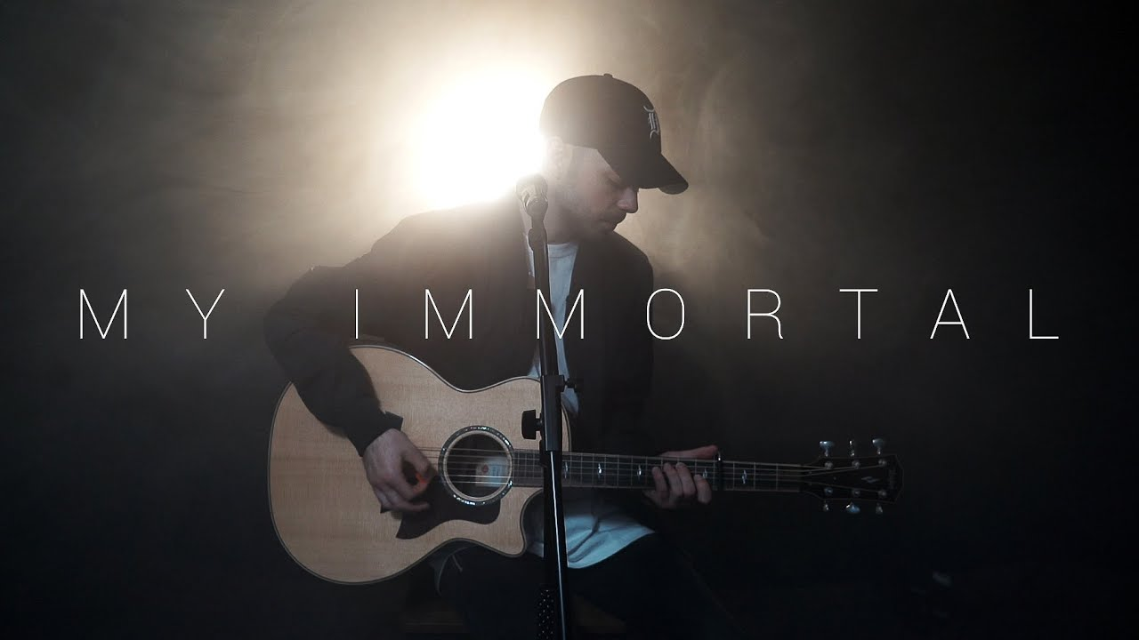 Evanescence - My Immortal (Acoustic Cover by Dave Winkler)