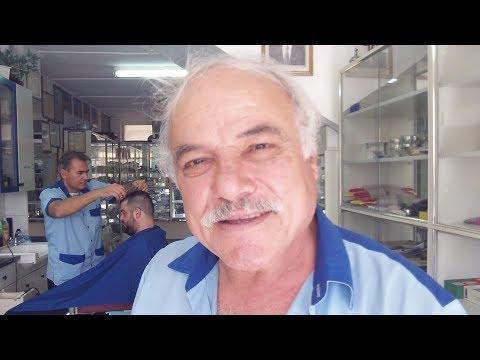 Poet Barber Yiannis Ttikkis in Nicosia, Cyprus (2014)
