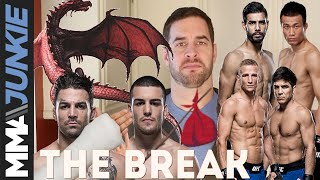 The Break: Baffled by Yair Rodriguez's crazy elbow thing and the UFC flyweight division
