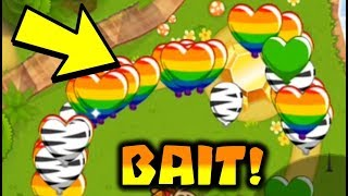Baiting Rushed in BTD Battles