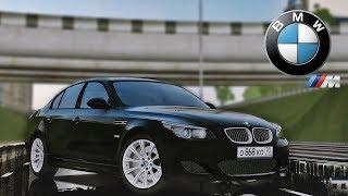 City Car Driving - BMW M5 E60 2009 5.0 V10 | Custom SOUND | Night Drive | 1080p & G27