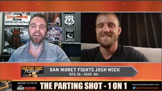 "RFA 36's Dan Moret ""I've got the skills everywhere to finish the fight"""