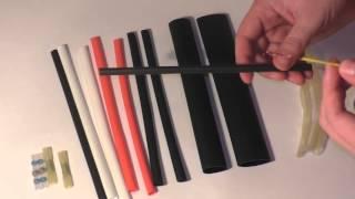 Видео. Набор термоусадочных трубок АВТО Отличный