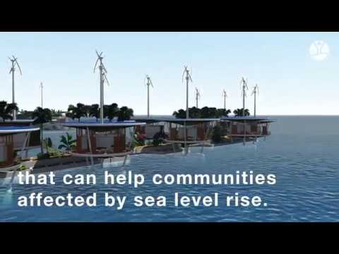 Floating settlements - a new solution to sea level rise