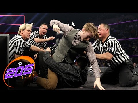 Thumbnail: Jack Gallagher and Ariya Daivari parlay to settle their differences: WWE 205 Live, Jan. 10, 2017