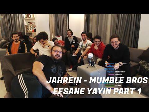 JAHREIN - MUMBLE BROS EFSANE YAYIN - PART 1