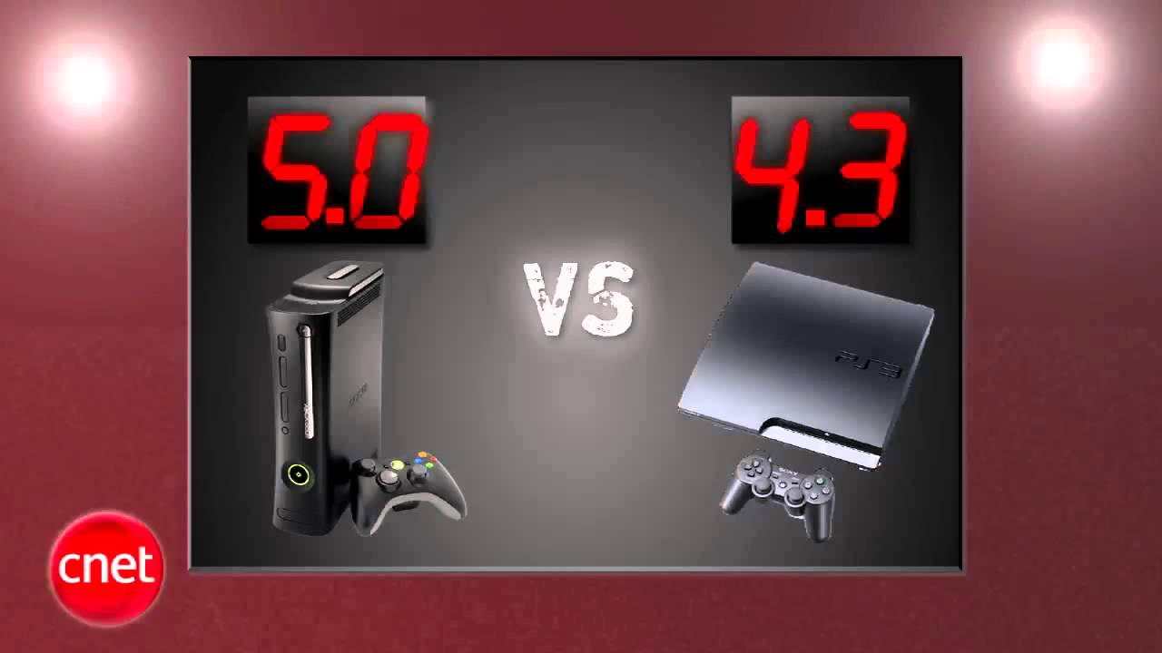 Xbox 360 Elite vs. PS3 Slim 2013 - YouTube
