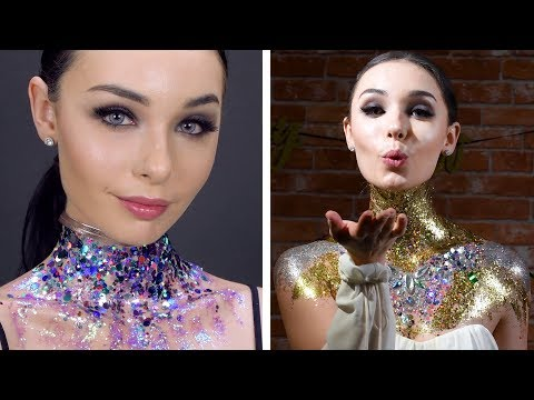 DIY Beauty Hacks and Ideas | Get The Glitter Look! Makeup Tips by Blusher thumbnail
