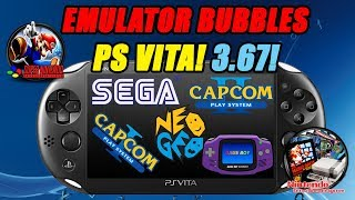 Emulator Bubbles for 3.67! SEGA, NES, SNES, GBA, NEO-GEO, CPS1 & CPS2!!! Install Guide!