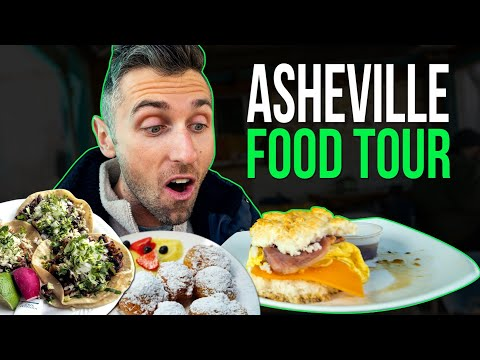 The BEST FOOD in ASHEVILLE NORTH CAROLINA