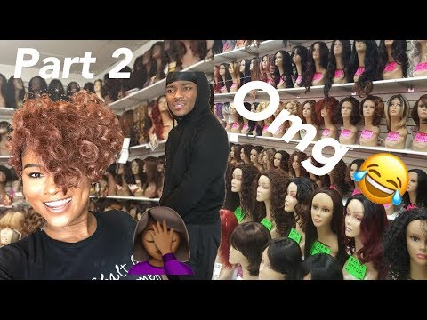 Try onhaul  I bought the cheapest wigs I could find in the hair store Boyfriend reacts