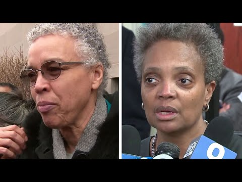 Preckwinkle, Lightfoot campaign at Rainbow PUSH event on South Side