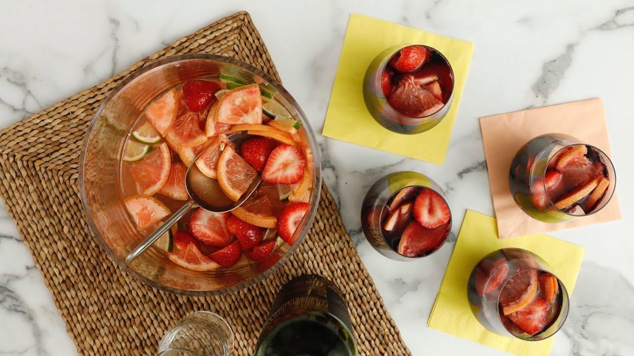 Boozy Red Sangria - Martha Stewart