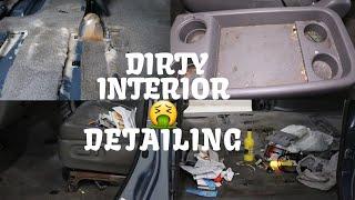 Deep Cleaning a FILTHY Minivan Interior   Satisfying Car Transformation of a Honda Odyssey!!