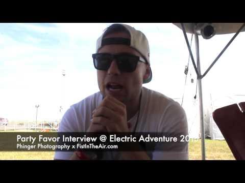 Party Favor Interview @ Electric Adventure 2015