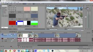 Sony Vegas Tutorial | Drunk/Blurred Double Vision