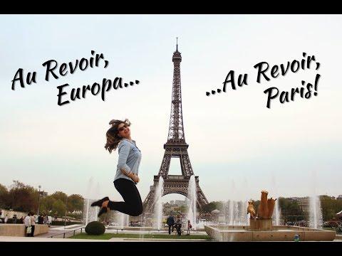 Vlog - Paris: Último dia de viagem | Arco do Triunfo | Champs Elysees | Pont des Arts | Torre Eiffel