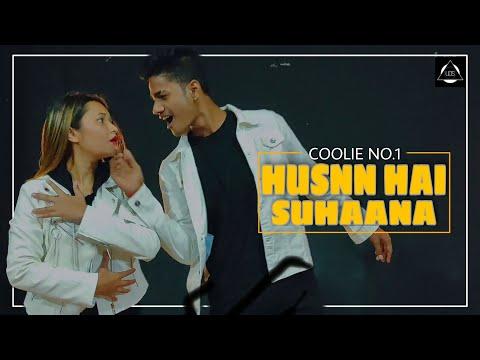 Husnn Hai Suhaana New - Coolie No.1   D HarsH & Sonu   United Dance Studio