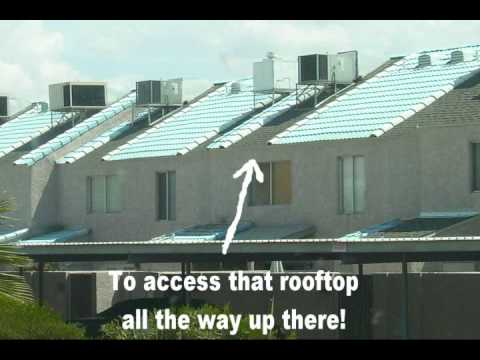 Stupid Builders Very Scary Rooftop Air Conditioner