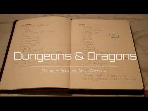 D&D Character Sheet Overview | See Metea's Book and Meet Salentithius