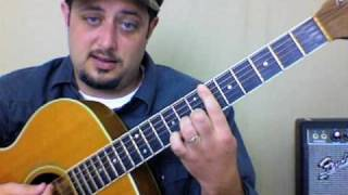 Easy Acoustic Song - Inspired Chords- Lynyrd Skynyrd - Strumming Chords and Rhythm