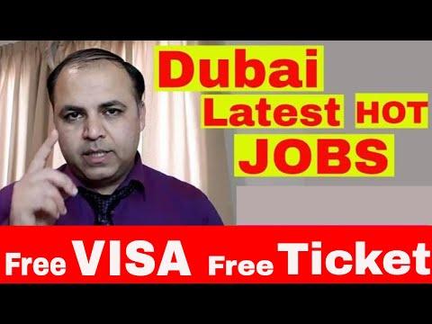 Dubai Latest Hot Jobs || Amazing Jobs Amazing Salary || Jobs in Dubai
