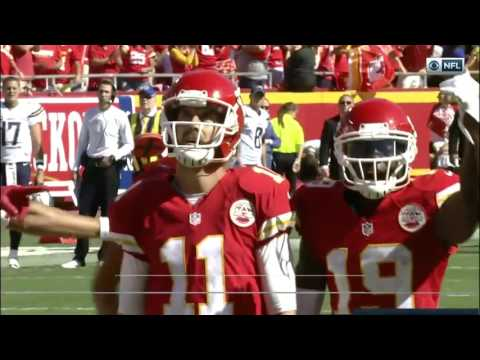 Alex Smith 2016 Chiefs Highlights (Weeks 1 - 12)