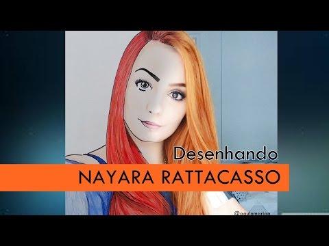 Nayara Rattacasso SPEED DRAW   Desenhando r