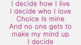 Watch Lindsay Lohan I Decide video
