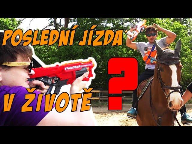 Jezdecká Challenge - Jura vs. Tary   Nerf Parkour #3