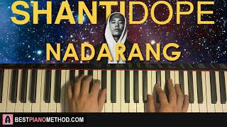 Video HOW TO PLAY - Shanti Dope - Nadarang (Piano Tutorial Lesson) download MP3, 3GP, MP4, WEBM, AVI, FLV Agustus 2018