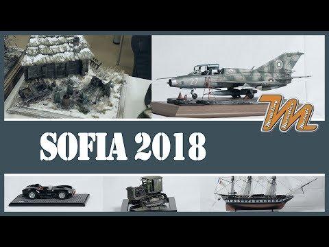 Plastic scale models show, Sofia, Bulgaria, 2018 - reportage