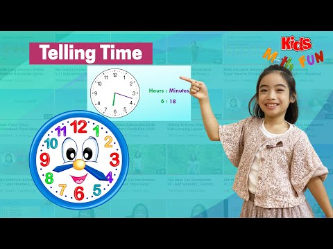 Kids Getting to Know Time | Telling Time Using Analog Clock | Play Game at 8:15?
