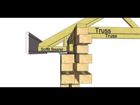 Section Through A Double Brick Building Part 2 Youtube