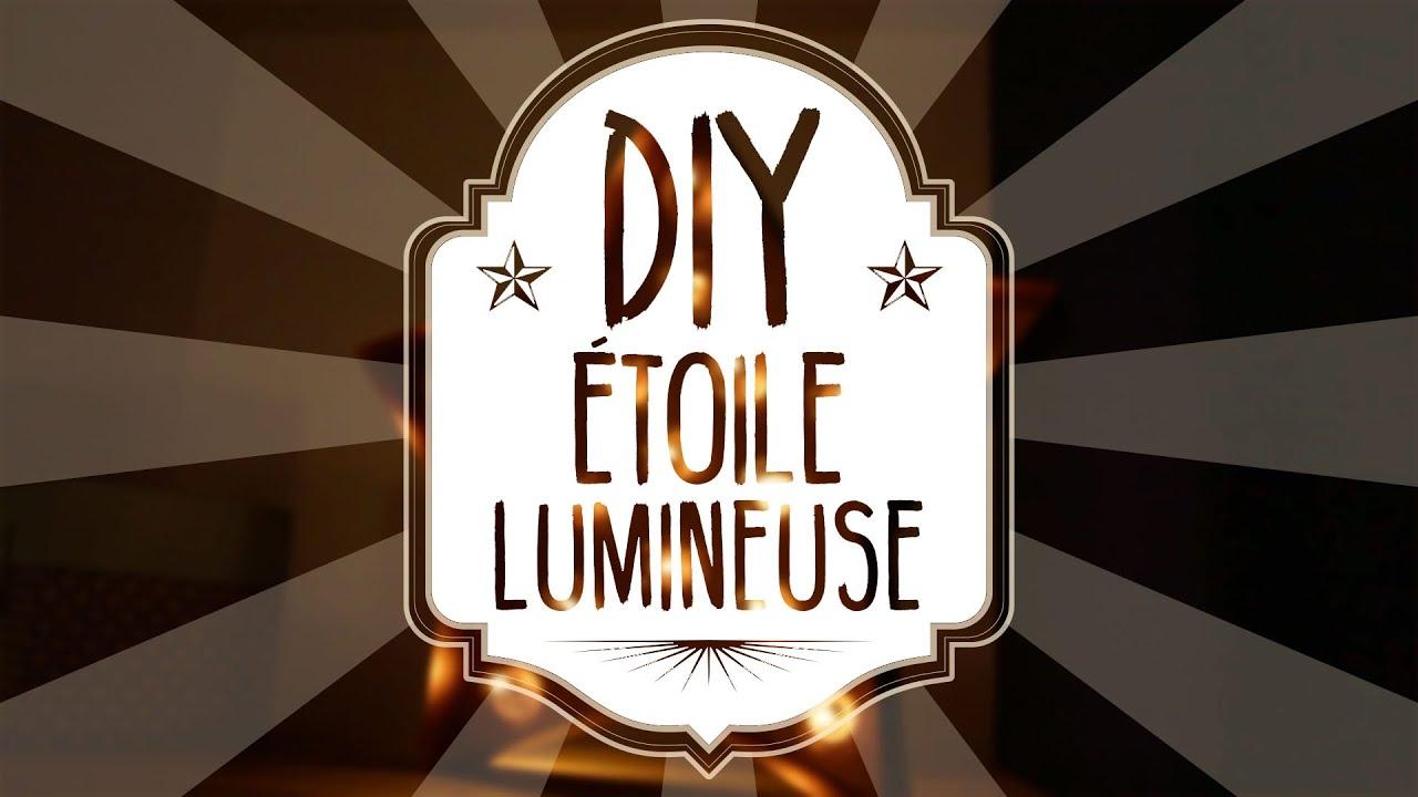 Top Easy DIY sans outil : étoile lumineuse enseigne vintage retro  DF75