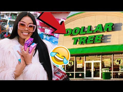 SHOPPING FOR FEMININE PRODUCTS AT DOLLAR TREE ‼️| (EXTREMELY FUNNY 😂)| Ft Unice Hair