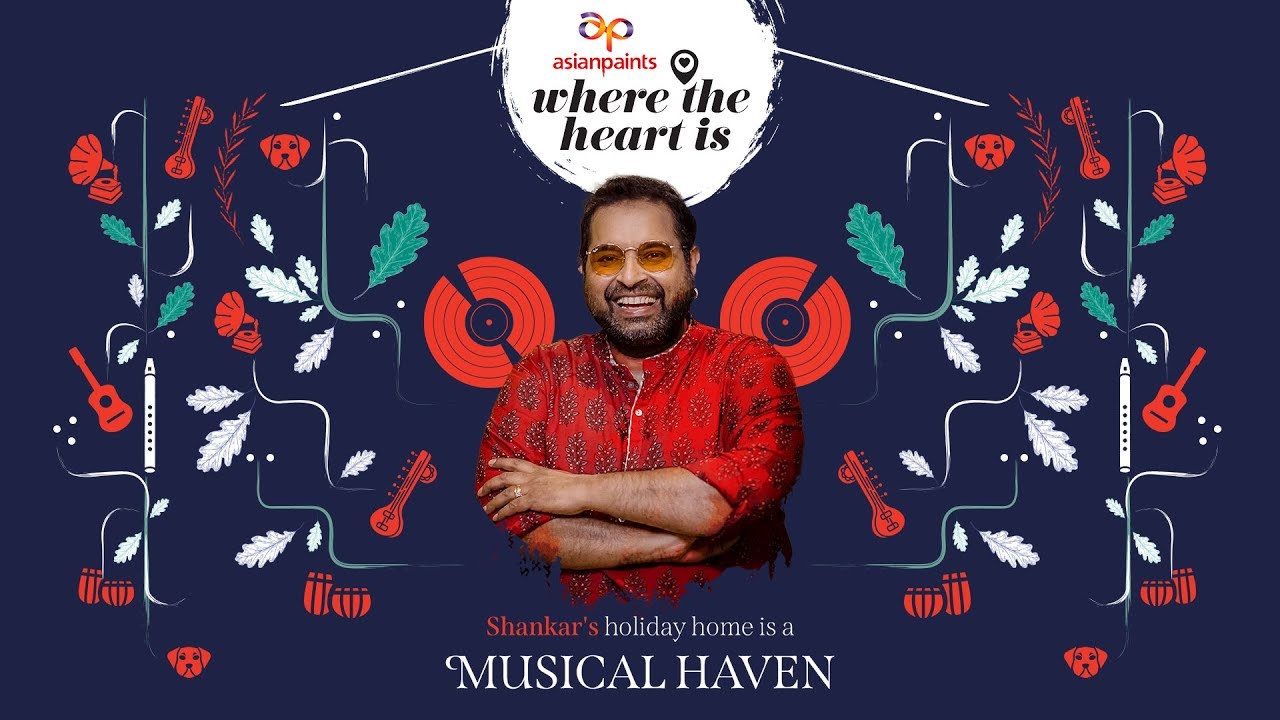 Asian Paints Presents Where The Heart Is Season 4 Ep 01 featuring Shankar Mahadevan