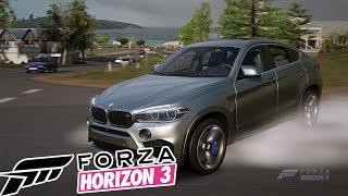 FORZA HORIZON 3   ПЕРВЫЙ ЗАЕЗД НА BMW X6M!!! #1