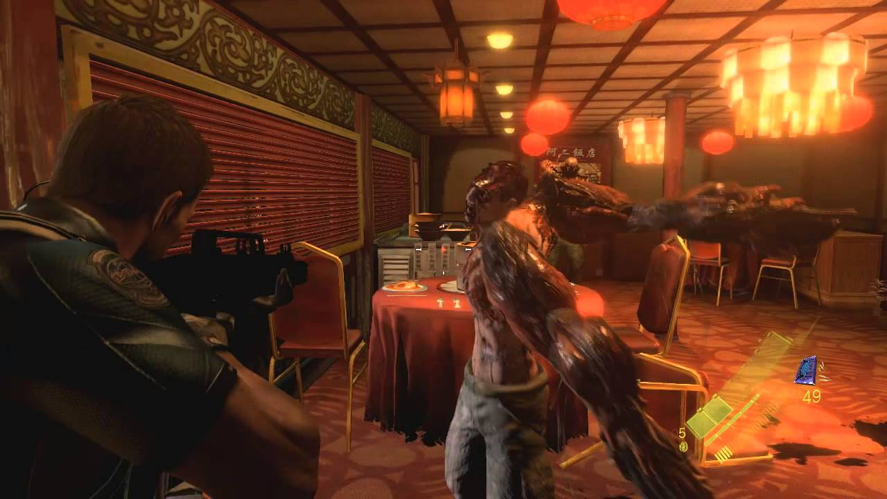 Resident Evil 6 Pc Gameplay Trailer Youtube