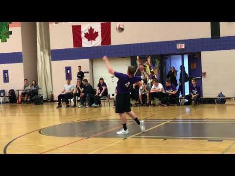2017 GBSSA Volleyball  Jr Boy Champions  Sr  Finalists  St. Peters Secondary School Barrie
