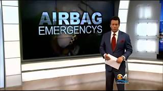 CBS Miami Lawsuit Filed Against Airbag Maker Takata And Honda