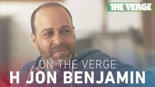 On The Verge: interview with voice actor H Jon Benjamin (Archer, Bob's Burgers)