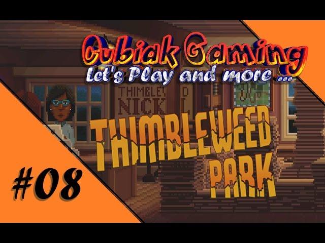 DER TRICK MIT DER LANDKARTE ★ Let's Play Thimbleweed Park #08
