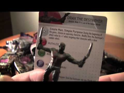 Marvel Heroclix Guardians of the Galaxy Movie Target Exclusive GF Unboxing