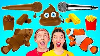 ชาเลนจ์ช็อคโกแลต VS อาหารธรรมดา    ใครหยุดกินก่อน แพ้ ! หม่ำของหวาน 24 ชั่วโมง โดย 123 GO! BOYS