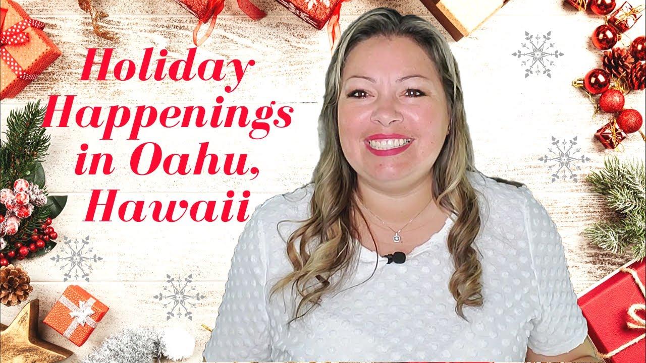 Holiday Happenings in Oahu, Hawaii