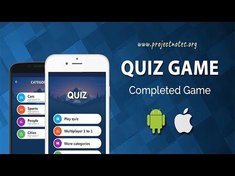 Android Quiz App With Source Code | ProjectNotes