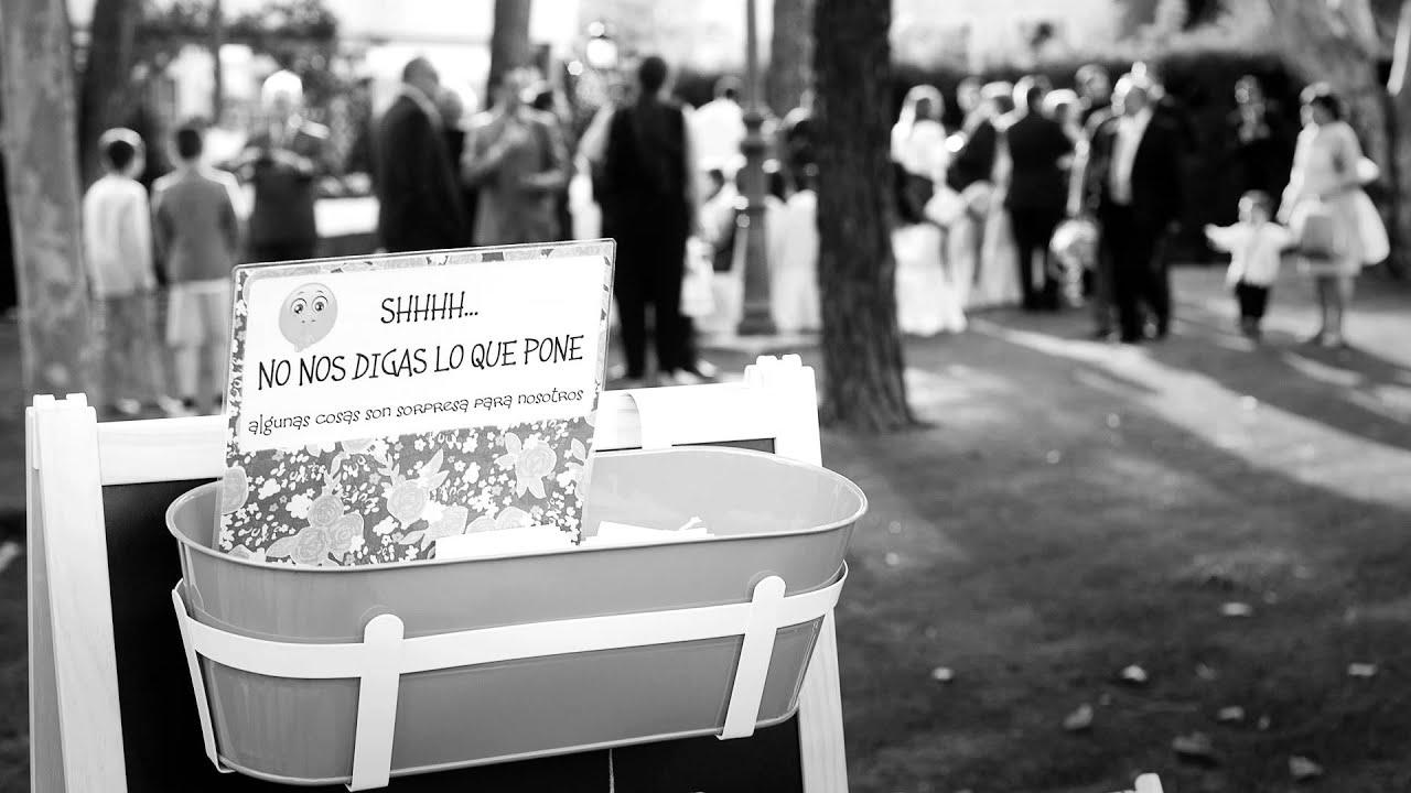 Boda En El Jardin Del Mesonero David Y Lara Youtube