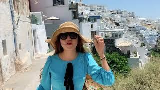 Một Vòng Quanh Chợ Santorini, Hy Lạp | Du Lịch cùng Lý Hải Minh Hà